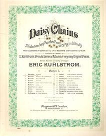 March - No. 1 from Daisy Chains collection of easy Pianoforte pieces - Series I