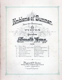 'Tis Still the Time of Roses (Noch sind die tage der Rosen) - No. 2 from Emblems of Summer Series of 8 Pieces - Op. 116
