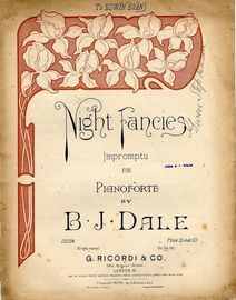 Night Fancies -  Impromptu for Piano Solo