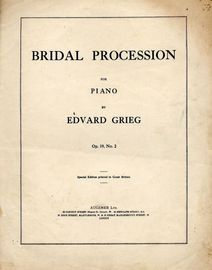 Bridal Procession For Piano - Op. 19 - No. 2