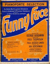 Funny Face - Pianoforte Selection from the Musical Comedy