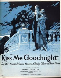 Kiss me Goodnight - Song with Piano accompaniment
