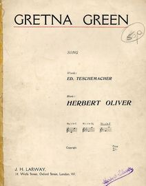 Gretna Green - Song in the key of F major for higher voice