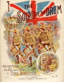 The Sound of the Drum - Military March on W. H. Judes Popular Song