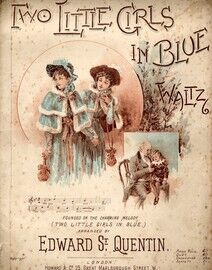 Two Little Girls in Blue - Waltz - For Piano