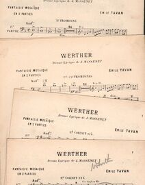 Werther - Drame lyrique de J.Massenet - Fantaisie Mosaique en 2 Parties