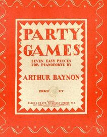 Party Games - Seven Easy Pieces for Pianoforte