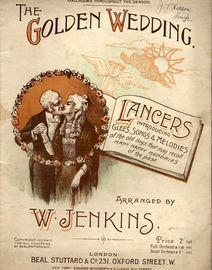 The Golden Wedding - Lancers introducing Glees, Songs and Melodies of the old days that may recall many happy memories of the past - Played at the Bla