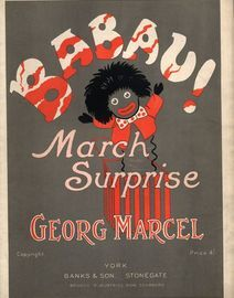 Babau! March Surprise for Piano