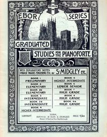 Ebor Series Graduated Studies for the Pianoforte - Book 2 - Elementary Grade