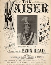 The Kaiser - Grand Imperial March for Pianoforte