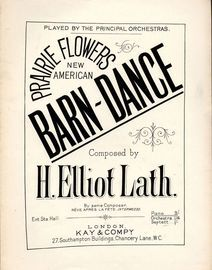 Prarie Flowers - New American Barn Dance Played by The Principle Orchestras - Piano Solo