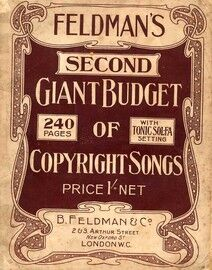 Feldman\'s Second Giant Budget of Copyright Songs - With Tonic Sol Fa Setting