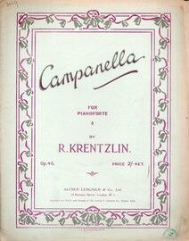 Campanella - For Pianoforte - Op. 46