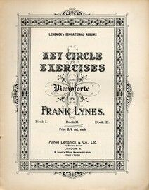 Key Circle Exercises for the Pianoforte - Book 2 - Lengnick's Educational Albums