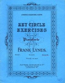 Key Circle Exercises for the Pianoforte - Book 3 - Lengnick's Educational Albums