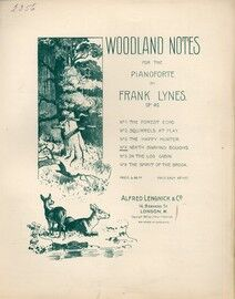Neath Swaying Boughs - Woodland Notes - No. 4 - Op. 40 - for Piano