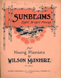 Sunbeams - 8 Bright Pieces for Young Pianists