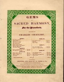 Gems of Sacred Harmony for the Pianoforte - Book 3