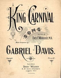 King Carnival - Song