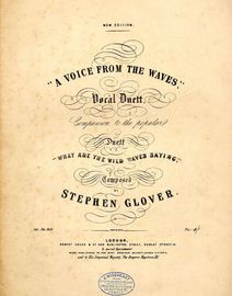 A Voice from the Waves - Vocal Duett - Companion to the popular Duett