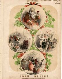 Old Father Christmas Quadrilles - For Piano