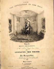 The Invitation to the Ball - 6th Edition  - AS sung by Miss Shirredd at the Theatre Royal Covent Garden in