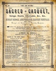 Sacred Casquet Series of Songs, Duets, Choruses, No. 261