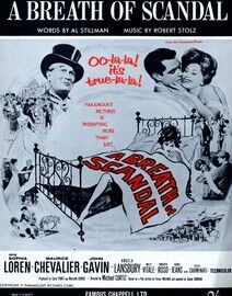 A Breath of Scandal - Song from the picture 'A Breath of Scandal' - Featuring Sophia Loren, Maurice Chevalier and John Gavin incoroporating Angela Lan