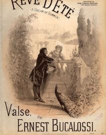 Reve D'ete (A Dream of Summer) - Valse for Piano Solo