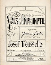 Valse Impromptu for Piano
