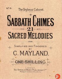 Sabbath Chimes - 21 Sacred Melodies - The orpheus Cabinet No. 4