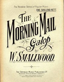 The Morning Mall Galop - The Rainbow Series of Popular Music No. 7
