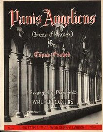 Panis Angelicus (Bread of Heaven) - Arranged for Piano Solo