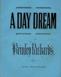 A Day Dream (Blumenthal's Favourite Song) - Arranged for the Piano