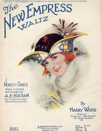 The New Empress Waltz - Novelty Dance - For Piano Solo - With instructions for the steps