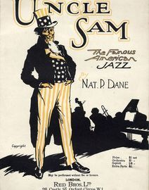 Uncle Sam - The Famous American Jazz - For Piano Solo