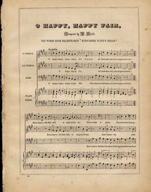 O Happy, Happy Fair - Words taken from Shakespeare's