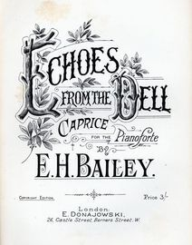 Echoes from the Dell - Caprice for Piano