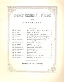 Lothians March - No. 186 from Short Original Pieces for the Pianoforte Series