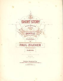 Short Story (Kleine Erzahlung) - Bagatelle for the Pianoforte - Op. 39, No. 5