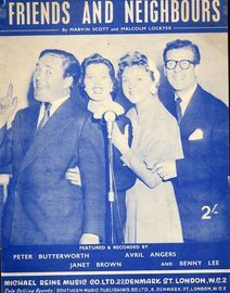 Friends and Neighbours -  featuring Peter Butterworth, Janet Brown, Avril Angers and Benny Lee