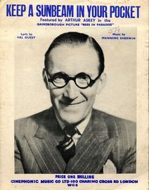 Keep a Sunbeam in Your Pocket - Arthur Askey in