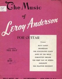 The Music of Leroy Anderson - For Guitar - Book One