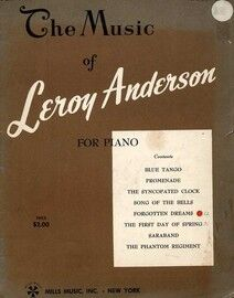The Music of Leroy Anderson - For Piano - Book One