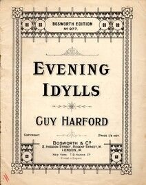 Evening Idylls - A Collection of four Piano Solos - Bosworth Edition No. 977