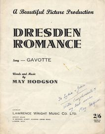 Dresden Romance - Gavotte - A Beautiful Picture Production