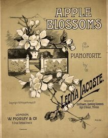 Apple Blossoms - For Pianoforte