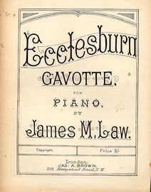 Ecclesburn - Gavotte for Piano