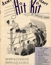 Army Navy Hit Kit of Popular Songs - Issued Monthyly by Special Services Division, Army Service Forces, United States Army - GG issue